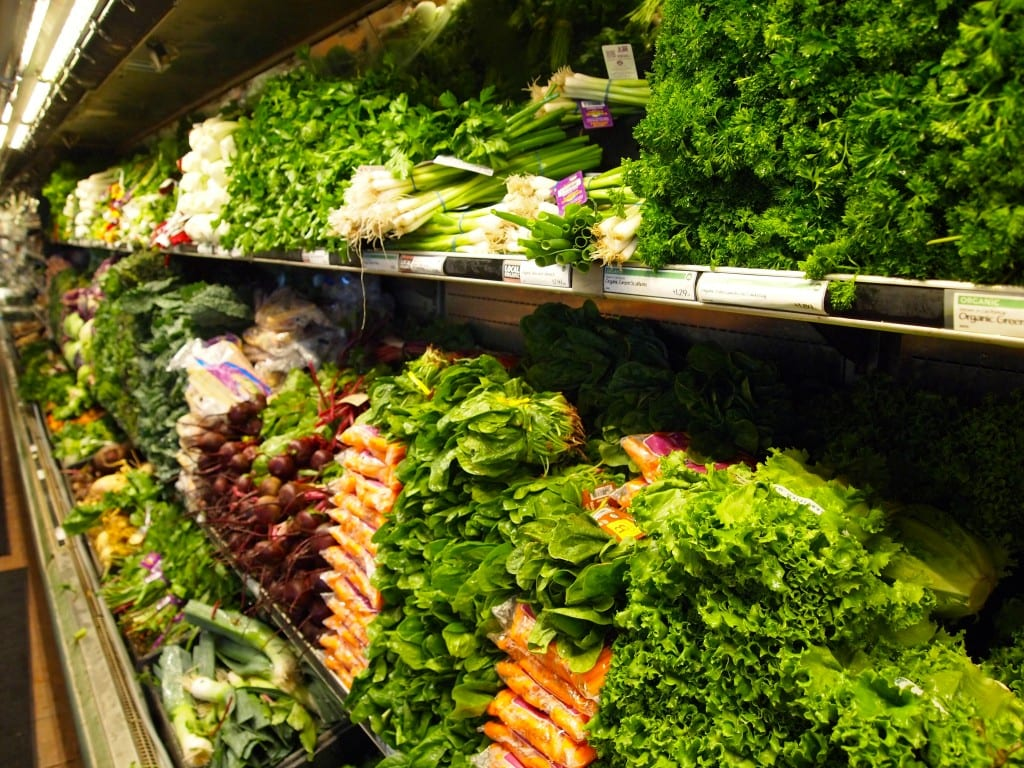 Whole Foods vihannekset