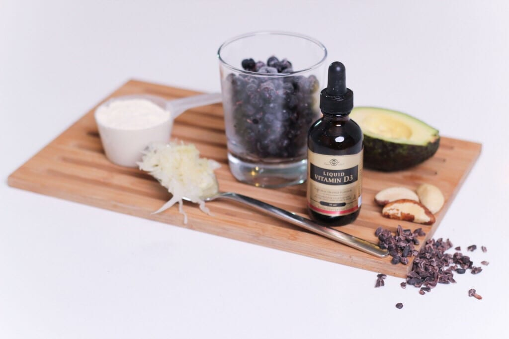 D-vitamiinin voi lisätä helposti vaikkapa aamusmoothien joukkoon nestemäisessä muodossa.
